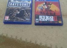 days gone .red dead 2 مستعمل نظيف