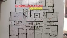 للبيع شقة 110 متر متقابلة /عمارة حديثة