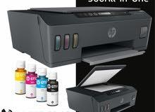 الطابعة الموفرة بالطباعة اسود وملون موديل Hp color 500 smart