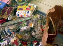 مجموعة العاب عطور اكسسوارات هدايا ورود قصص اطفال بالونات سباحة بيعة وحدة اكثر من الف قطعة
