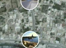 أرض مقسمة إلى مقسمين الاول373م والثاني 375م واجهة شرقي على طريق يوصل إلى شط بن ج