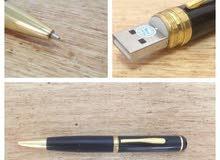 قلم كاميرا تصوير فيديو دقه عاليه وتصوير فوتوغرافي