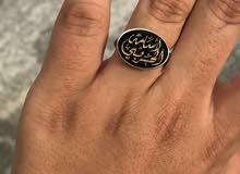 خاتم ملكي فضه ايطالي عيار 925