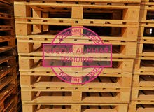 #wooden pallets #plastic pallets We have all sizes Ready to contract #طبليات خشب