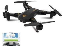 طائرات كوادكوبتر مع كاميرا تصوير + بطاريتان إضافية