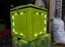 صندوق دليفري منور لشهرة المحل