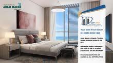 الشارقة Studio sea view start from 36500 OMR instalment 3 years