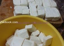 جبنة مشمولة طازج بقري للكنافة والمعجنات الخ