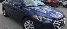 2017 Hyundai Elantra SE in Dark Blue