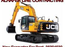 excavator + JCB for monthly work