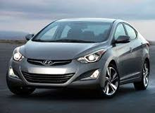 Automatic 2016 Elantra for rent