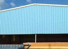 مصنع 5000 متر للبيع او الايجار