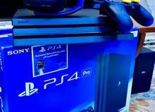 جهاز PS4 PRO جديد كسر الكارتون 4K HDR