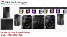 Sound System Rental Dubai - Sound System Rental for Events in Dubai