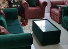 أريكة بتصميم حديث جديد للبيع sofa set for sale good qulty  modren desgin low cost