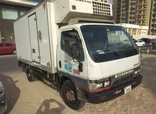 ميتسبوشي كانتر تلاجة موديل 2003 بحالة جيدة للبيع تسجيل دبي ملكية 6 اشهر