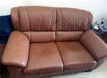 """Sofa set two + one seat+ single seat+ Sofa Bed+ TV 50"""" with Rack + Kenwood Grill Brand new."""