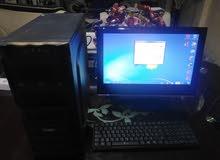 كمبيوتر مكتب جديد نظيف بسعر لوزي
