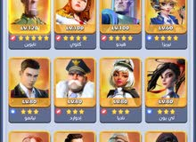 Top War: Battle Game account for sale (Level 80, 5 Star, VIP 13 account for sale)