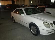مرسيدس E240 موديل 2003 صبغ وكاله حاله جيده تحتاج ربل صباب