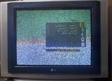 تلفزيون LG super slim  28 انش مع ريموت وموزع مداخل