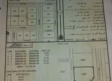 للبيع  أرض سكنية سوبر كورنر الموقع (أرض جو ) محافظة البريمي.