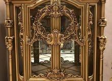 غرفة سفره 3قطع 8كراسي خشب الزان اجود انواع الخشب كلاسيكي