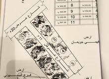 قطعة ارض 560 متر في شارع عبد الصمد