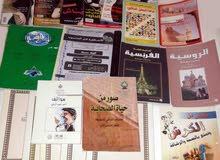 مجموعة من الكتب المنوعة للبيع بسعر جيد