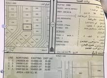 للبيع ارض سكنية ولاية ادم /حي صفاء2