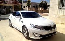 سيارة كيا اوبتيما 2014 للضمان الشهري على كريم او اوبر او تكرم .. السيارة مسجلة ع