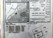 ارض صناعية للإيجار  في موقع حيوي مقابل الشارع الرئيسي - صحار/ العوهي