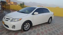 Toyota Corolla car for sale 2011 in Rustaq city