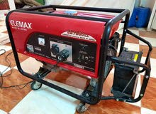 مولد اليمكس هوندا ياباني 7600 مستعمل شهر فقط لاغير الماكينة بحالتها جيدة جدا