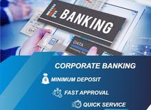 Company Bank Account Opening