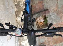 دراجة مستعملة استعمال بسيط ايطاليه النوع بيانكي امتع الوكيل 8 مارشات عداد سرعه ومسافة والوقت