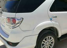سيارة فورتشنر موديل 2012 للايجار في عدن