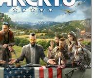 لعبة Far cry 5 للبدل فقط فقط مع لعبة spiderman