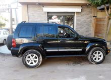 Black Jeep Liberty 2007 for sale