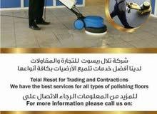 التنظيف السريع  ومكافحة الحشرات