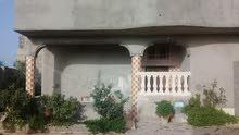 منزل للبيع او الاستبدال بأرض تجارية في تاجوراء مكانه التويتة شارع العرص
