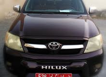 Toyota Hilux 2006 For sale - Maroon color
