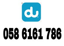 058 61 61 786. for sale (Du prepaid).