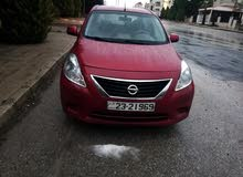 Nissan Sunny 2013 For sale - Maroon color