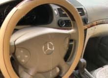 بيعهههه سريعة مرسيدس بنز E240 موديل 2005 بحاله ممتازه