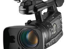كاميرا تصوير فيديو أحترافية Canon x305 لم تستعمل الا فى التجربة فقط