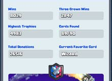 CLASH ROYAL FOR SALE 12 LEVEL _ 4983 HIGHEST SCORE