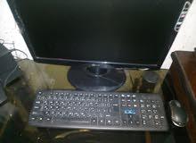 كمبيوتر مستعمل بحالة جيدة للبيع