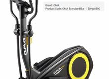 OMA 8500 Exercise Bike - 150Kg أوما عجله تدريب وزن 150 كيلو جرام بالحاله الاصليه-استخدام اسبوع