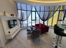 للبيع شقة مفروشة بالكامل ،في برج راقي ومميز في منطقة السيف